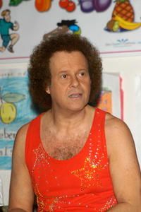 Richard Simmons at the Third Annual Nutrition Advisory Council Symposium sponsored by LAUSD Nutrition Network.