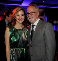 Grace Gummer and producer Gary Goetzman at the after party of the California premiere of