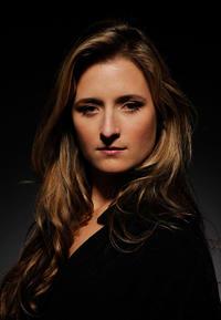 Grace Gummer at the portrait session of
