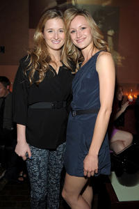 Grace Gummer and Kerry Bishe at the after party of