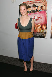 Grace Gummer at the New York premiere of