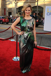 Grace Gummer at the red carpet of the California premiere of