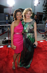 Gugu Mbatha-Raw and Grace Gummer at the red carpet of the California premiere of