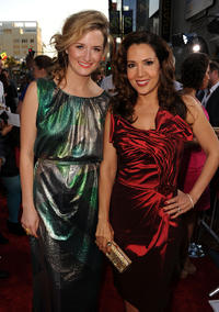Grace Gummer and Maria Canals-Barrera at the red carpet of the California premiere of