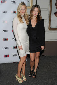 Mamie Gummer and Grace Gummer at the Broadway Opening Night of