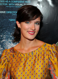 Anna Wood at the New York premiere of