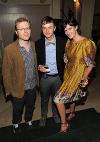 Anthony Rapp, Dane DeHaan and Anna Wood at the New York premiere of