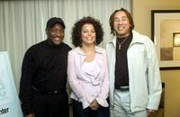 Donnie Simpson, Debra Lee and Smokey Robinson at the Black Entertainment Television's