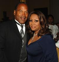 O.J. Simpson and Patti LaBelle at the Jermaine Dupri and the Crown Royal's Kentucky Derby Bash.