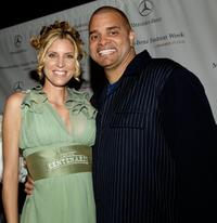 Sinbad and Gran Centenario at the Mercedes Benz Fashion Week.