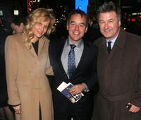 Lori Singer, Director Chris Columbus and Alec Baldwin at the Tisch School of the Arts Annual Gala benefit.