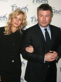Lori Singer and Alec Baldwin at the Tisch School of the Arts Annual gala benefit.