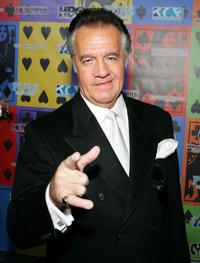 Tony Sirico at the Comedy Festival's Comedy Cares first annual Celebrity Poker Tournament.