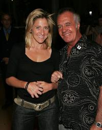 Edie Falco and Tony Sirico at the screening of HBO documentary