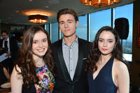 Lara Robinson, Callan McAuliffe and Freya Tingley at the 2nd AACTA International Awards in California.