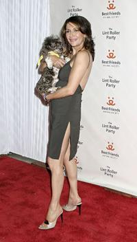 Marina Sirtis at the 2004 Annual Lint Roller party.