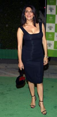 Marina Sirtis at the Environmental Media Awards.