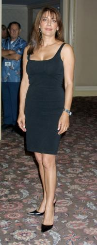 Marina Sirtis at the National Cable and Telecommunications Association press tour.