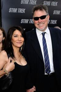 Marina Sirtis and Jonathan Frakes at the premiere of