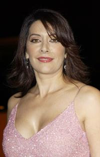Marina Sirtis at the premiere of