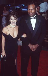 Marina Sirtis and Michael Dorn at the British Academy of Film and Television.