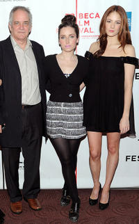 Director Jay Anania, Zoe Lister-Jones and Emily Tremaine at the after party of