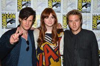 Matt Smith, Karen Gillan and Arthur Darvill at the press line of