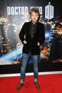 Arthur Darvill at the London premiere of