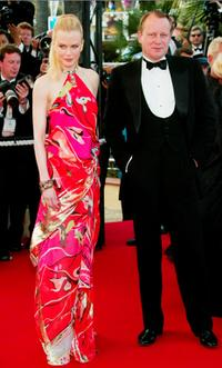 Nicole Kidman and Stellan Skarsgard at the premiere of