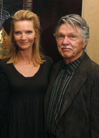 Joan Allen and Tom Skerritt at the Toronto International Film Festival reception of