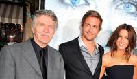 Tom Skerritt, Gabriel Macht and Kate Beckinsale at the premiere of