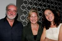 Ron McLarty, Kate Skinner and Nina Jacques at the after party of the opening of