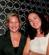 Kate Skinner and Nina Jacques at the after party of the opening of