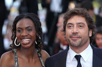 Diarytou Daff and Javier Bardem at the premiere of