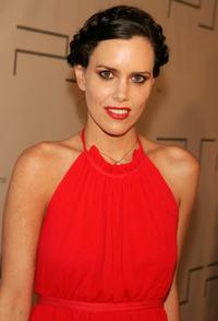 Ione Skye at the Play Station Portable Fashion and Technology show.