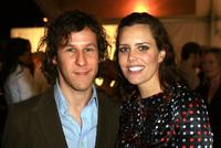 Ione Skye and Ben Kaller at the Mercedes Benz Fashion Week.