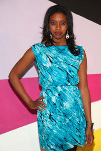 Condola Rashad at the Alice + Olivia Fall 2012 Presentation during the Mercedes-Benz Fashion Week in New York.