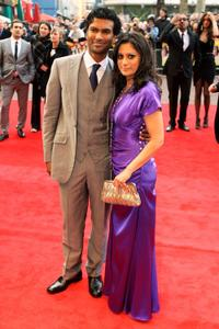 Sendril Ramamurthy and Goldy Notay at the UK premiere of
