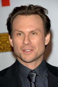Christian Slater at the 12th Annual Critics' Choice Awards.