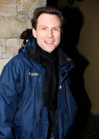 Christian Slater at the 2007 Sundance Film Festival.