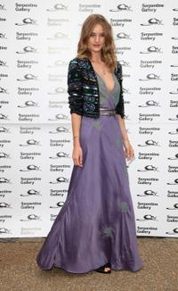 Rosie Huntington-Whiteley at the Serpentine Gallery Summer Party.