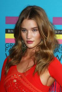 Rosie Huntington-Whiteley at the Gala Show and Awards of Graduate Fashion Week 2009.