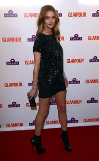 Rosie Huntington-Whiteley at the Glamour Women of the Year Awards 2009.
