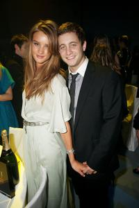 Rosie Huntington-Whiteley and Ty Wood at the Elle Style Awards 2009.