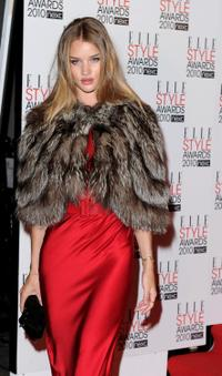 Rosie Huntington-Whiteley at the ELLE Style Awards.