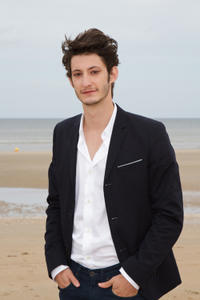 Pierre Niney at the 26th Cabourg Romantic Film Festival in France.