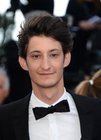 Pierre Niney at the premiere of