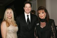 Afton Smith, Brendan Fraser and Jackie Collins at the 16th Carousel of Hope.