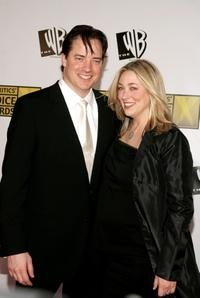 Brendan Fraser and Afton Smith at the 11th Annual Critics' Choice Awards.