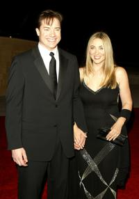Brendan Fraser and Afton Smith at the Walt Disney Concert Hall opening gala.